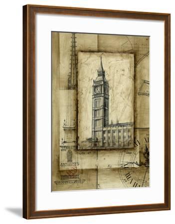 Passport to Big Ben-Ethan Harper-Framed Art Print