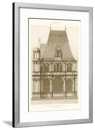 French Architecture II-Eugene Rouyer-Framed Art Print