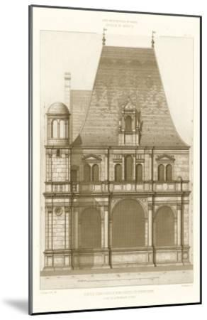 French Architecture II-Eugene Rouyer-Mounted Art Print