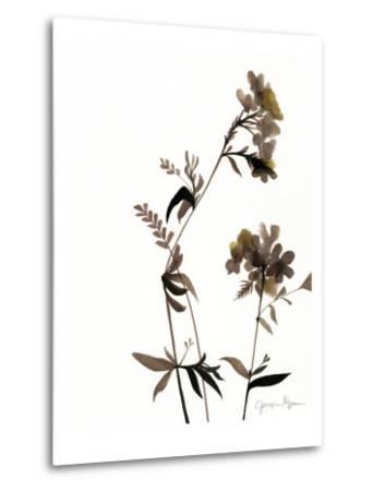 Watermark Wildflowers II-Jennifer Goldberger-Metal Print