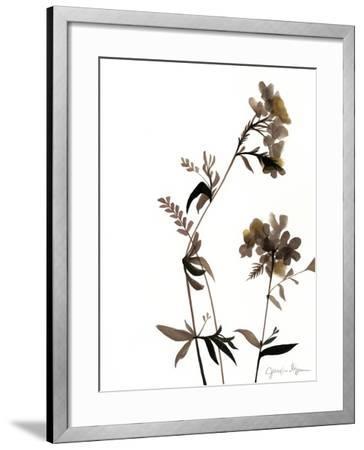 Watermark Wildflowers II-Jennifer Goldberger-Framed Art Print