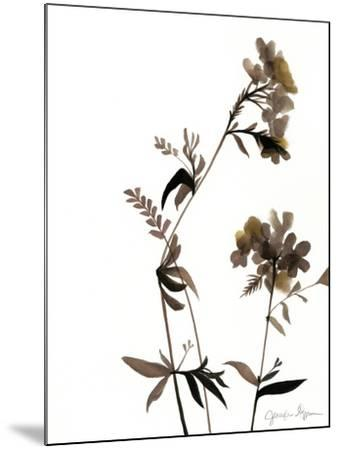 Watermark Wildflowers II-Jennifer Goldberger-Mounted Art Print