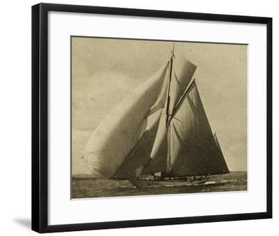 Racing Yachts III-Vision Studio-Framed Art Print