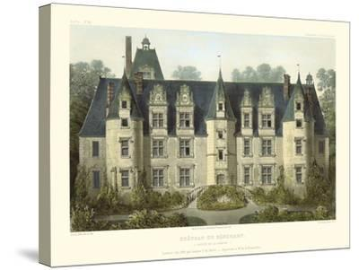 Petite French Chateaux III-Victor Petit-Stretched Canvas Print