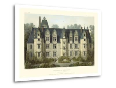 Petite French Chateaux III-Victor Petit-Metal Print