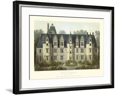 Petite French Chateaux III-Victor Petit-Framed Art Print