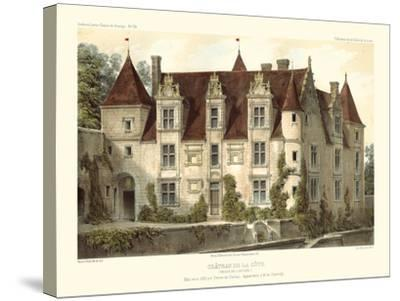 Petite French Chateaux VI-Victor Petit-Stretched Canvas Print