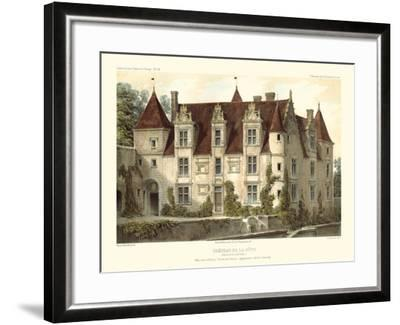 Petite French Chateaux VI-Victor Petit-Framed Art Print