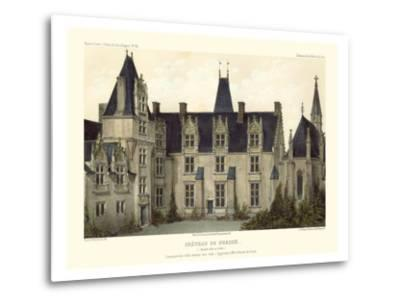 Petite French Chateaux VIII-Victor Petit-Metal Print