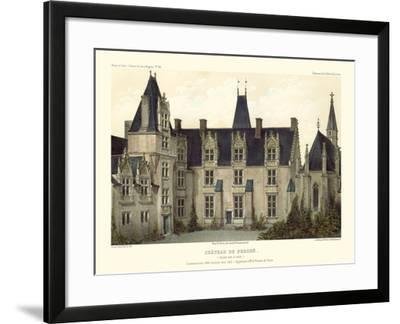 Petite French Chateaux VIII-Victor Petit-Framed Art Print