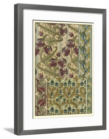 Garden Tapestry IV-Eugene Grasset-Framed Art Print
