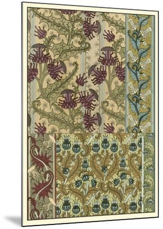 Garden Tapestry IV-Eugene Grasset-Mounted Art Print