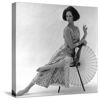 Pucci Dress, 1963-John French-Stretched Canvas Print