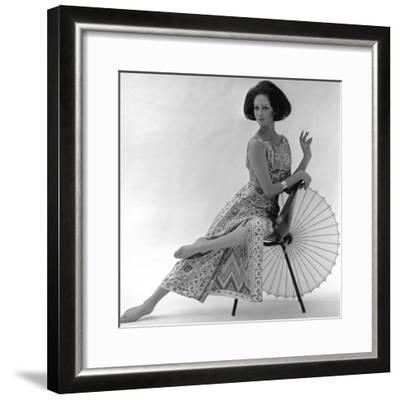Pucci Dress, 1963-John French-Framed Giclee Print