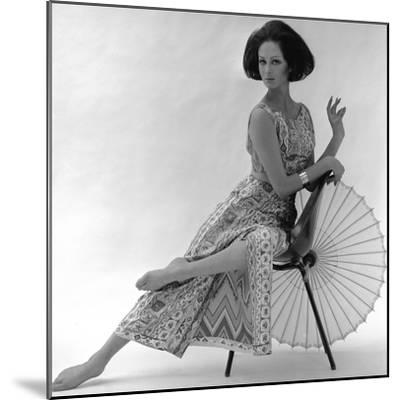 Pucci Dress, 1963-John French-Mounted Giclee Print