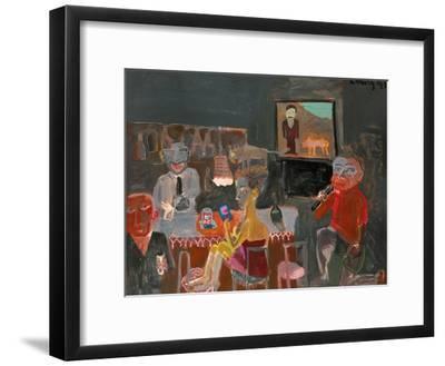 Night Life of Karaoke-Zhang Yong Xu-Framed Giclee Print