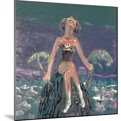 Hearing the Wind-Zhang Yong Xu-Mounted Premium Giclee Print