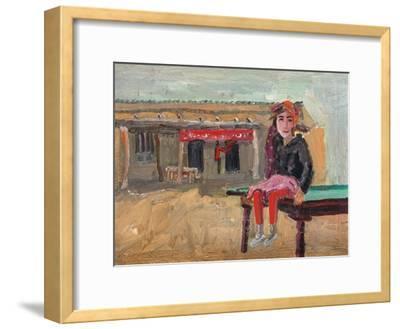 Grasp Rice Master's Daughter-Zhang Yong Xu-Framed Giclee Print