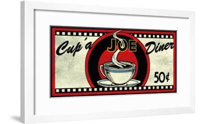 Cup 'a Joe Diner-Kate Ward Thacker-Framed Giclee Print