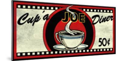 Cup 'a Joe Diner-Kate Ward Thacker-Mounted Giclee Print