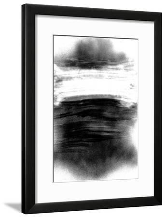 NIRVANA?The Color of the Zen is a Black from White-Masaho Miyashima-Framed Giclee Print