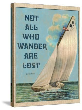 Not all who Wander-Kate Ward Thacker-Stretched Canvas Print