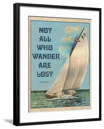 Not all who Wander-Kate Ward Thacker-Framed Giclee Print