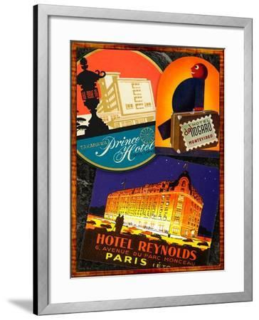 Paris-Kate Ward Thacker-Framed Giclee Print