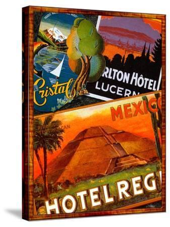 Mexico-Kate Ward Thacker-Stretched Canvas Print