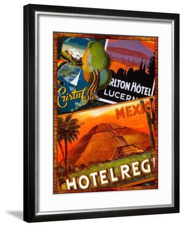 Mexico-Kate Ward Thacker-Framed Giclee Print