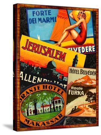 Jerusalem-Kate Ward Thacker-Stretched Canvas Print