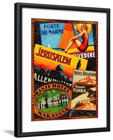 Jerusalem-Kate Ward Thacker-Framed Giclee Print