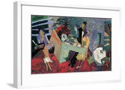 A Party at a Hotel-Zhang Yong Xu-Framed Premium Giclee Print