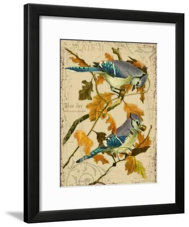 Blue Jay-Kate Ward Thacker-Framed Giclee Print