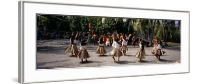 48th Annual Hawaiian Cultural Festival, Pu'uhonua O Honaunau National Historical Park, Hawaii--Framed Photographic Print