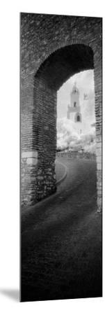 Church Viewed Through an Archway, Puerta Del Sol, Medina Sidonia, Cadiz, Andalusia, Spain--Mounted Photographic Print