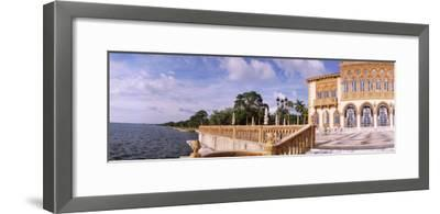 Facade of a Museum, Ringling Museum of Art, Ca D'Zan, Sarasota, Florida, USA--Framed Photographic Print