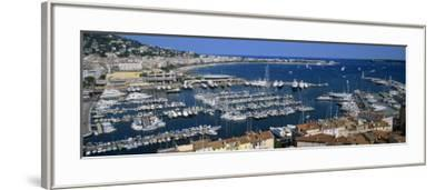 View of a Harbor, Cannes, Provence-Alpes-Cote D'Azur, France--Framed Photographic Print