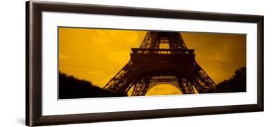 View of a Tower, Eiffel Tower, Champ De Mars, Paris, Ile-De-France, France--Framed Photographic Print
