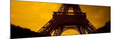 View of a Tower, Eiffel Tower, Champ De Mars, Paris, Ile-De-France, France--Mounted Photographic Print