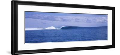 Waves in the Sea, Indonesia--Framed Photographic Print