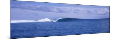 Waves in the Sea, Indonesia--Mounted Photographic Print