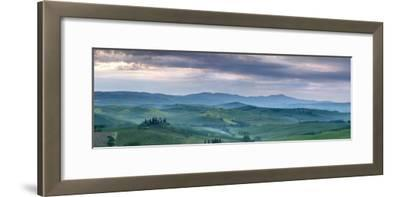 Belvedere at Dawn, Valle De Orcia, Tuscany, Italy-Nadia Isakova-Framed Photographic Print