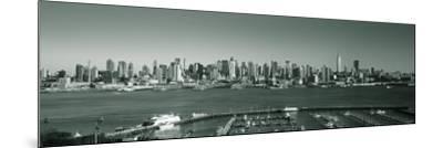 Manhattan, New York City, NY, USA-Walter Bibikow-Mounted Premium Photographic Print