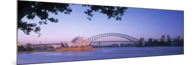 Sydney, New South Wales, Australia-Peter Adams-Mounted Photographic Print