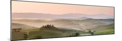 Belvedere at Dawn, Valle De Orcia, Tuscany, Italy-Nadia Isakova-Mounted Photographic Print