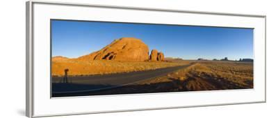 Arizona-Utah, Monument Valley, USA-Alan Copson-Framed Photographic Print