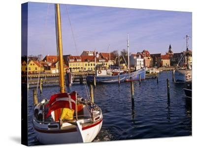 Harbour and Town of Faaborg, Denmark-Paul Harris-Stretched Canvas Print