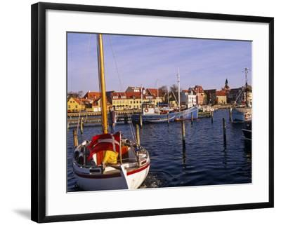 Harbour and Town of Faaborg, Denmark-Paul Harris-Framed Photographic Print
