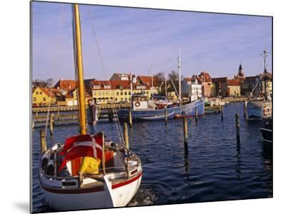Harbour and Town of Faaborg, Denmark-Paul Harris-Mounted Photographic Print